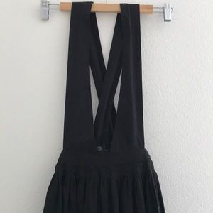 Brand new Silence+Noise black pinafore dress